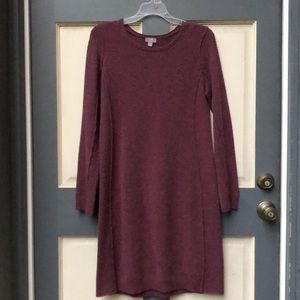 J Jill wool and cashmere sweater dress